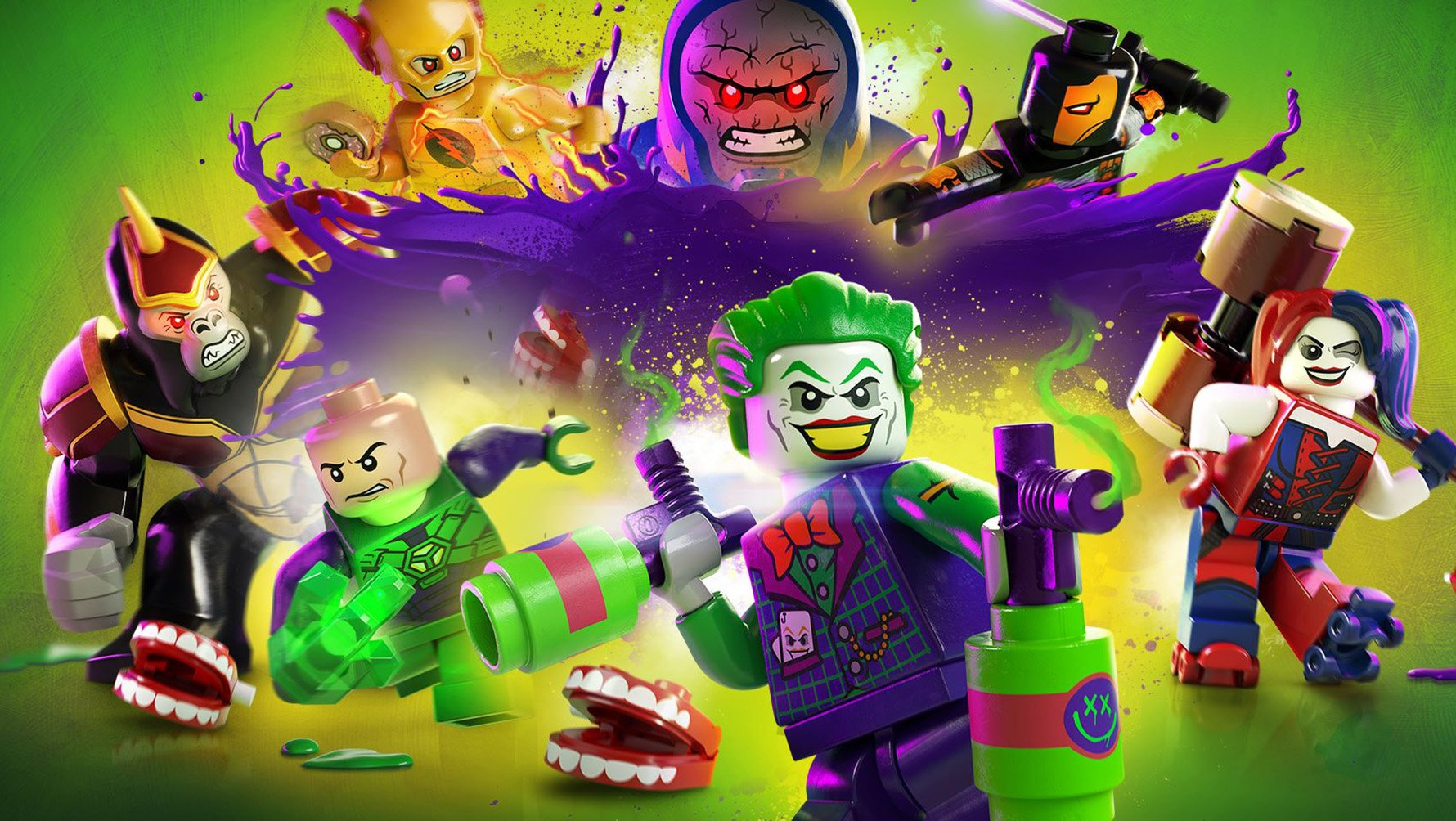 LEGO DC Super-Villains Steam CD Key EU
