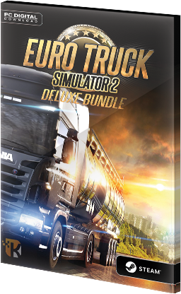 Euro Truck Simulator 2 Deluxe Bundle Steam CD Key EU za darmo