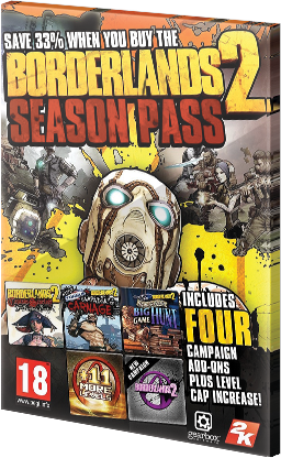 Borderlands 2 Season Pass DLC Steam CD Key EU za darmo
