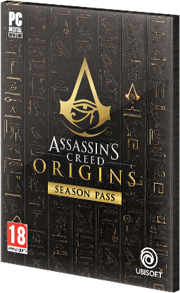 Assassins Creed Origins Season Pass DLC Uplay CD Key EU za darmo