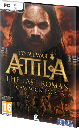 Total War Attila The Last Roman Campaign Pack DLC Steam CD Key EU za darmo