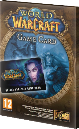 World of Warcraft 60 Days Prepaid Card CD Key EU
