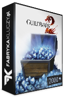 Guild Wars 2: 2000 Gems Card Prepaid CD Key za darmo
