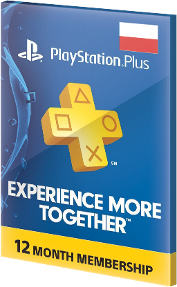 365 Days Playstation Network Plus Card PSN CD Key PL za darmo