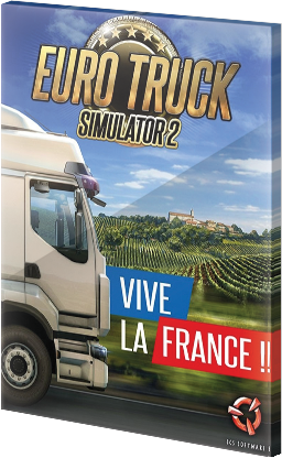 Euro Truck Simulator 2: Vive la France! DLC Steam CD Key EU za darmo