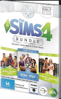 The Sims 4 Bundle pack part 5 Origin CD Key EU za darmo