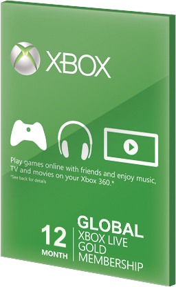 Xbox Live GOLD Subscription Card 12 Months Global za darmo