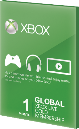 Xbox Live GOLD Subscription Card 1 Months Global za darmo
