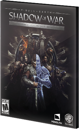 Middle-Earth Shadow of War Silver Edition Steam CD Key EU za darmo